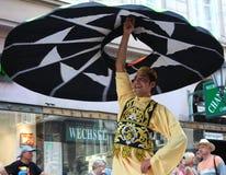 Egyptian dancer Stock Photos