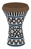 Egyptian darbuka vector. Egyptian musical instrument - darbuka, vector - art Stock Photo