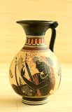 Egyptian decorative vase Royalty Free Stock Photos