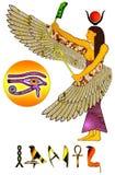 Egyptian deity Stock Photos