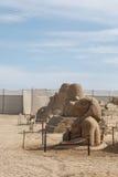 Egyptian Deity Sculpture Stock Photo