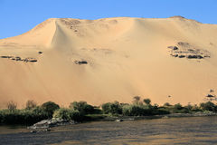 Egyptian desert Royalty Free Stock Photos