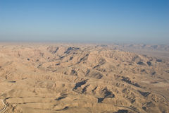 Egyptian Desert Aerial Royalty Free Stock Images