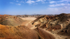 Egyptian desert of stones Stock Image