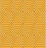 Egyptian diamond pattern Stock Image