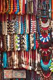 Egyptian ethnic costume jewellery Stock Photography