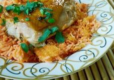Egyptian Faatah Rice Stock Image
