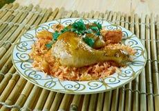 Egyptian Faatah Rice Stock Images