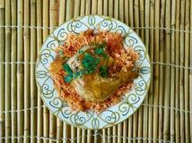 Egyptian Faatah Rice Royalty Free Stock Photos