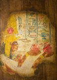 Egyptian Family Art Stock Image