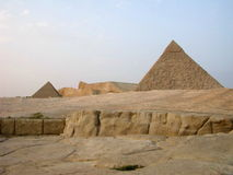Egyptian Famous Great Pyramid Of Giza Royalty Free Stock Photo
