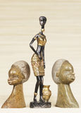 Egyptian figurines Royalty Free Stock Photography