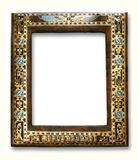 Egyptian frame. Isolated on white Stock Photo