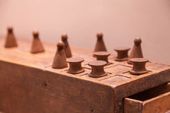 Egyptian Game of Senet Royalty Free Stock Photography