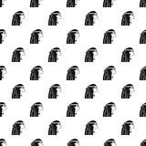 Egyptian girl pattern vector. Egyptian girl pattern seamless in simple style vector illustration stock illustration
