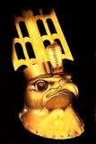 Egyptian god stock image