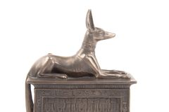 Egyptian God Anubis Royalty Free Stock Image