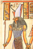 Egyptian God Horus Stock Photography