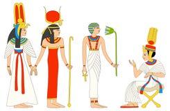 Egyptian goddess Isis Stock Images
