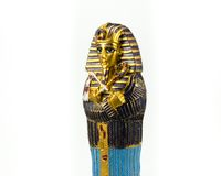 Egyptian golden pharaohs mask Royalty Free Stock Photo