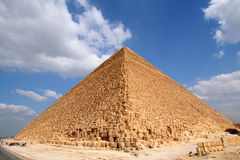 Egyptian great pyramid Stock Photo