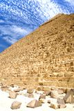 Egyptian Great Pyramid Royalty Free Stock Photography