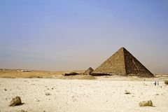 Egyptian Great Pyramids Royalty Free Stock Image