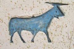 Egyptian hieroglyph Stock Image