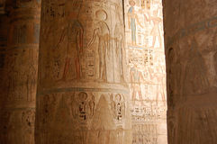 Egyptian Hieroglyphcs Stock Image