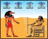Egyptian hieroglyphics - 14 Stock Photo
