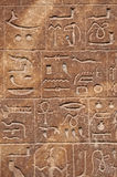 Egyptian hieroglyphs background Royalty Free Stock Image
