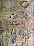 Egyptian hieroglyps Stock Photo
