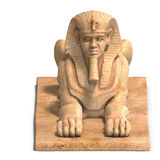 Egyptian human statue Royalty Free Stock Image