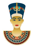 Egyptian Icon Nefertiti Stock Image