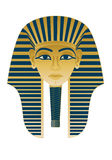 Egyptian Icon Tutankhamun Stock Images