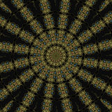 Egyptian kaleidoscope mandala royalty free stock image