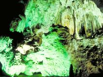 Egyptian karst caves with stalactites