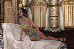 Egyptian Lady Royalty Free Stock Photo