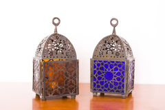 Egyptian lamps - two pieces Stock Images