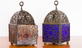 Egyptian lamps - two pieces Stock Photography