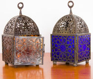 Egyptian lamps - two pieces Royalty Free Stock Images