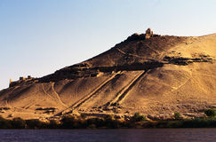 Egyptian landscape Royalty Free Stock Images