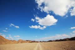 Egyptian landscapes Stock Images