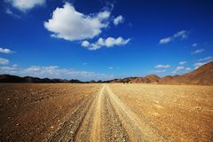 Egyptian landscapes Stock Image