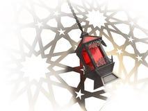 Egyptian lantern. Egyptian Fanoos or Lantern - 3d illustration royalty free illustration