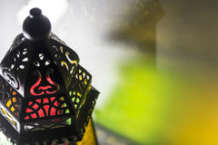 Egyptian lantern. Or as we call it in Egypt Fanoos, children play with it in Ramadan Royalty Free Stock Photography
