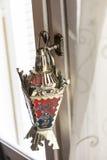 Egyptian lantern. Hanging on door - fanous Ramadan Stock Image
