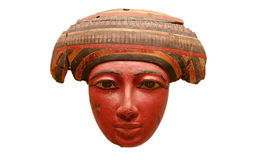 Egyptian mask of Coffin Royalty Free Stock Image