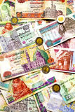 Egyptian money Stock Image