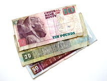 Egyptian Money royalty free stock image